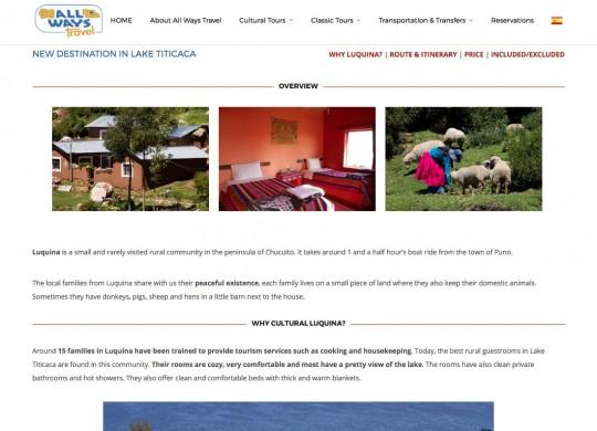 TiticacaPeru web