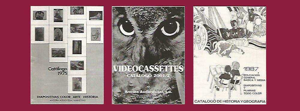 Catálogos antiguos Ancora Audiovisual
