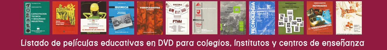 material educativo en DVD